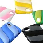 """Накладка силиконовая HOCO для iPhone 5/5S """"Cotton Candy"""""""
