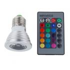 Светодиодная лампа-прожектор с пультом ДУ для регулировки цвета