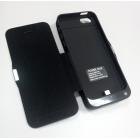 """Внешняя батарея-чехол """"LONG LIFE"""" для Phone 5/5S/5C 4200мАч Чёрная"""