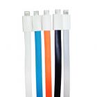USB силиконовый дата-кабель для iPhone 5/5S/6