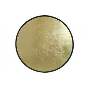 Светоотражатель Tobe-80R студийный двухсторонний серебро / золото круглый 80 см