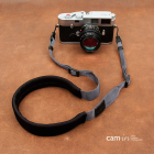 """Ремень нашейный для фотокамеры Cam-in """"Comfort"""" Серый"""