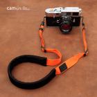 """Ремень нашейный для фотокамеры Cam-in """"Comfort"""" Оранжевый"""
